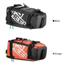Cycle Bicycle Bag Bike Double Side Panniers Rear Rack Tail Seat Trunk Bag O0S5