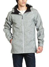 Quiksilver Origin Men's Softshell Snowboard Ski Jacket NEW Gray