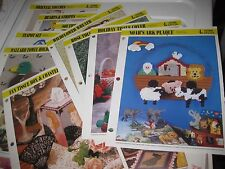 Your Choice One Plastic Canvas Pattern Leaflet - (D) see photos & listing-4home