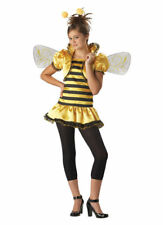 Girls Queen Bumble Honey Bee Kids Halloween Costume Size M (10-12) Brand NEW
