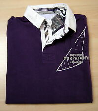 Polo Murphy and Nye t-shirt Men Man rugby jersey Slim Fit jersey Pique new