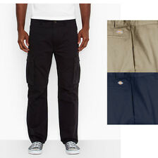 Dickies Men's Work Cargo Straight Fit Relaxed Fit Pants