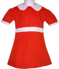 Little Orphan Annie Red Dress Costume Child S M L XL NIP