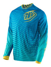 Troy Lee Designs GP Off-Road Jersey - TREMOR Blue/Yellow - 5 Adult Sizes