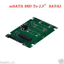 Mini pcie mSATA SSD To 2.5Inch SATA3 Adapter Card With Case High Quality