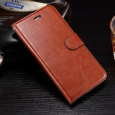 High Quality Leather Filp Photo Frame Card Wallet Case Cover For iphone 7 plus