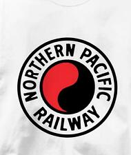 Northern Pacific Railway Logo Railroad Train T Shirt All Sizes & Colors