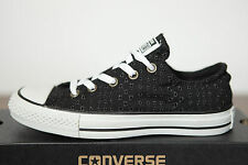 New All Star Converse Chucks low Trainers OX Eyelet 542541c Size 40 UK 7