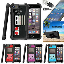 "For Apple iPhone 7 Plus (5.5"") Grip Bumper Stand Case Game Controller"