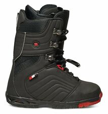 2017 NWOB MENS DC SCENDENT SNOWBOARD BOOT $350 8 Black/Red traditional lacing