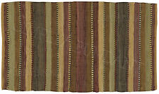 Timber Ridge Rag Rug by Park Designs, Choice of 3 Sizes, Buy One or Set, Cabin
