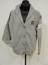 New United States Army Womens sizes L-XL Gray Button-Up Collared Sweater