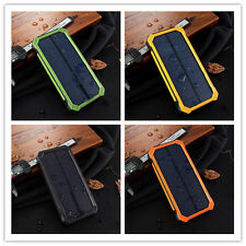 Solar Power Bank Portable External Battery Charger  5000~16000mAh Chargeable