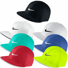 New Nike Golf 2016 True Tour Flat Bill Fitted Cap Hat - Pick Color