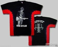 T-Shirts Sizes S-2XL New Authentic Mens Bob Dylan Money Tour Tie Dye Tee Shirt