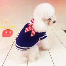 Soft Dog Clothes Pet Winter Sweater Knitwear Puppy Clothing Warm Apparel Coat
