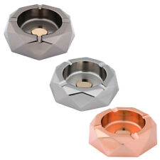 Home Hotel Bar Metal Water Cube Shaped Smoke Cigarette Ash Container Ashtray