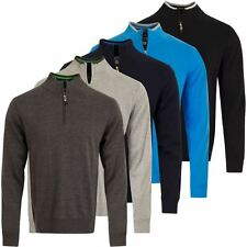 Cutter & Buck Vancouver WIND-BLOCK Thermal Sweater Mens Golf Lined Pullover 2016