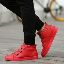 New Men's skate board sneaker high top ankle boots hip hop dance shoes outdoor