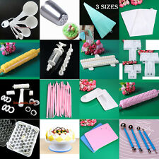 Fondant Cake Modelling Cutters Pastry Icing Sugarcraft Mould Decorating Tool Set