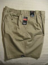 Roundtree &Yorke Classic Travel Smart Elastic Waistband Easy Care Cotton Shorts
