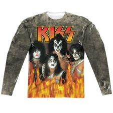 Sizes S-3XL New Adult Kiss Through The Fire Long Sleeve Sub TShirt