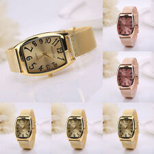 Women Girl Lady Classic Wrist Watch Lady Quartz Stainless Steel square Watches