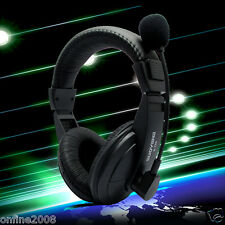 3.5mm Gaming Headset Surround Stereo Headband Headphone With Mic For PC Laptop