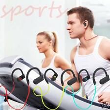 Wireless Bluetooth Sports Stereo Headset Headphone Earphone For Samsung iPhone