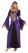Ladies Medieval Maiden Costume for Middle Ages Tudor Fancy Dress Outfit