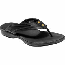 KEEN Leather FLIP FLOP Dress CASUAL Thongs SANDALS Shoes WOMENS size 5 5.5 6 6.5