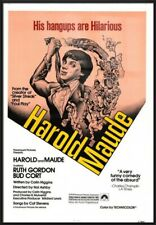 HAROLD AND MAUDE - FRAMED MOVIE POSTER / PRINT (REGULAR STYLE)