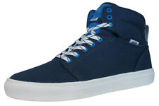 Vans Alomar Unisex High Top Trainers / Skateboarding Shoes - Navy Blue