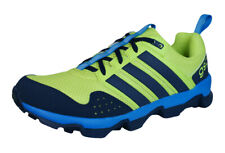 adidas GSG9 TR Mens Trail Running Trainers / Shoes - Navy and Green