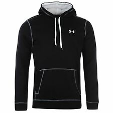 Under Armour Storm Rival Pullover Hoody Mens Black Sweater Sweatshirt Jumper