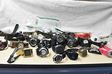 Watch lot of 39 Casio Watches, Store Returns, Parts or Repair G Shock, Digital,