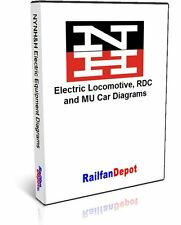 New Haven Electric Locomotive, RDC and MU Car Diagrams - PDF on CD - RailfanD...