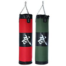 Boxing Punching Bag Thai Training Fitness MMA Kick Fight Sand Bag Punch AAU
