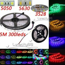 5M 3528 LED Strip Lights 5050 Flexible LED Light Strips 5630 LED Stripe Lamp 12V