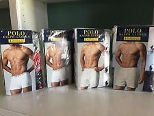 Polo Ralph Lauren 3 pack Boxer Briefs or Knit Boxers Classic Fit Sizes M, L, XL