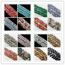 29pcs Faceted Mixed Stone Teardrop Loose Beads (Choose Your Like Stone) SHX92
