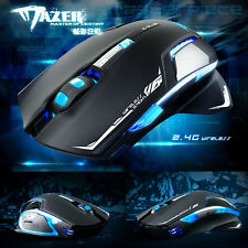 E-3lue 6D Mazer II 2500 DPI Blue LED 2.4GHz Game Mouse Wireless Optical Mive Lot