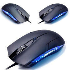 1600 DPI LED Optical Adjustable USB Wired Gaming Mouse Game Mice For PC Laptop