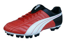Puma Mestre GCi FG Mens Leather Football Boots / Cleats - Red