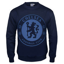 Chelsea Football Club Official Soccer Gift Mens Crest Sweatshirt Top