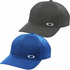 Oakley Golf 2016 Tech Perf Stretch Fit Hat Structured Mens Performance Golf Cap