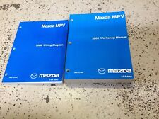 2006 Mazda MPV Van Service Repair Shop Manual SET FACTORY W Wiring Diagram