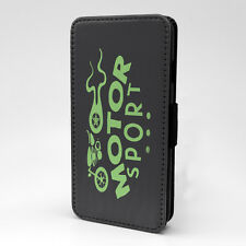 Saying Quote Motor Sport Flip Case Cover For Sony Xperia - P544