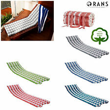 Quality Pure Cotton Outdoor Indoor Daybed Sun LOUNGE Chair Seat Bed Cushion Mat