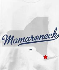 Mamaroneck, New York NY MAP Souvenir T Shirt All Sizes & Colors
